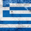 Grunge Flag of Greece — Stock Photo