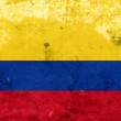 Grunge Colombia Flag — Stock Photo #32184097