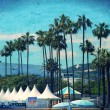 Palms in Cannes, France — Stock Photo #34446659