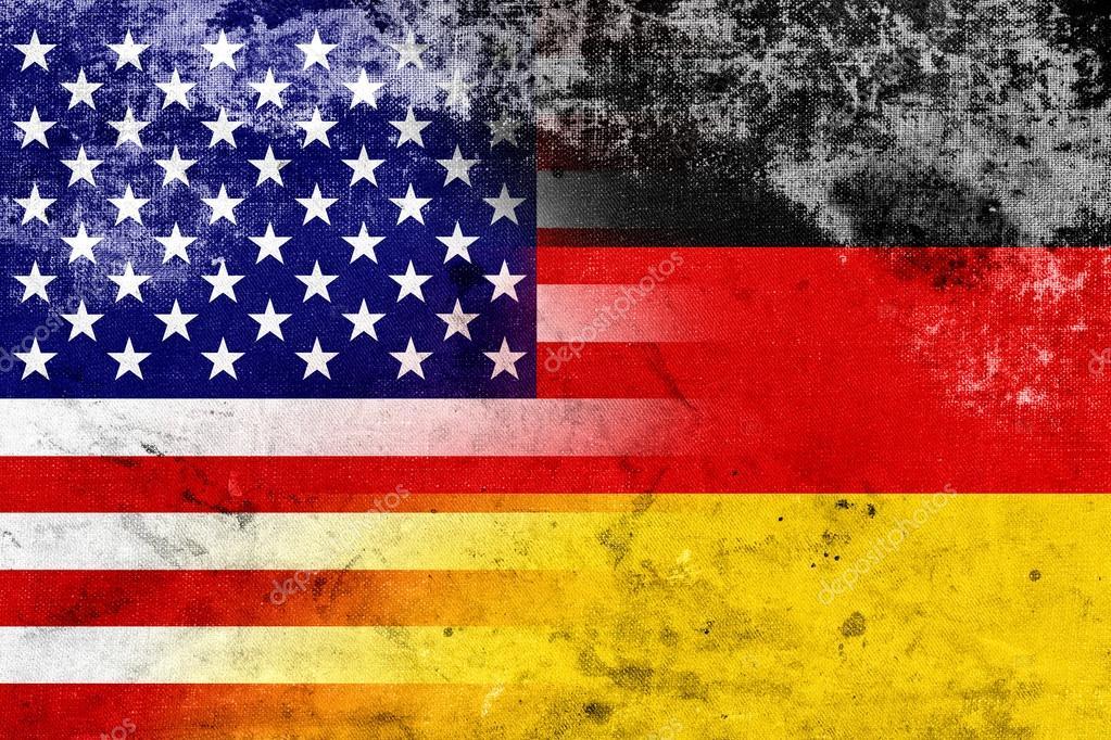 bandera de estados unidos y alemania grunge foto de stock promesastudio 34631533. Black Bedroom Furniture Sets. Home Design Ideas