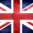Grunge UK Flag — Stock Photo