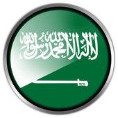 Suudi Arabistan bayrağı — Stok fotoğraf