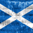 Stock Photo: Scotland Flag painted on grunge wall