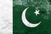 Grunge Pakistan Flag — Stock Photo