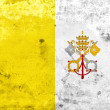 Grunge Vatican City Flag — Stock Photo #39099709