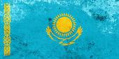 Grunge Kazakhstan Flag — Stock Photo