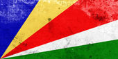 Grunge Seychelles Flag — Stock Photo
