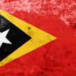Stock Photo: Grunge East Timor Flag