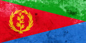 Grunge Eritrea Flag — Stock Photo