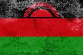 Grunge Malawi Flag — Stock Photo