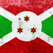 Grunge Burundi Flag — Stock Photo