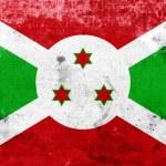Grunge Burundi Flag — Stock Photo
