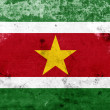 Stock Photo: Grunge Suriname Flag
