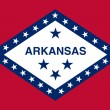 Stock Photo: Arkansas State Flag