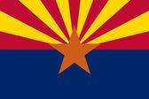 Arizona State Flag — Stock Photo