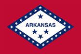 Arkansas State Flag — Stock Photo
