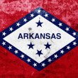 Stock Photo: Grunge Arkansas State Flag
