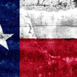Texas State Flag painted on grunge wall — Stock Photo