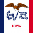 Iowa State Flag — Stock Photo #40091135