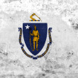 Grunge Massachusetts State Flag — Stock Photo #40217343
