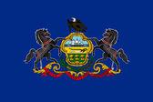 Pennsylvania State Flag — Stock Photo