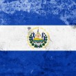 Stock Photo: Grunge El Salvador Flag