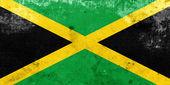 Bandeira de jamaica grunge — Fotografia Stock