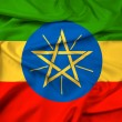 Waving Ethiopia Flag — Stock Photo #43087605