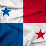 Waving Panama Flag — Stock Photo #43089159