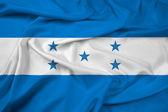 Waving Honduras Flag — Foto de Stock