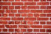 Red brick wall texture or background — Foto Stock