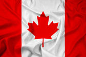 Wapperende vlag van canada — Stockfoto