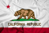 Waving California State Flag — Stock Photo