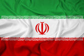 Waving Iran Flag — Stock Photo