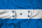 Waving Honduras Flag — Stock Photo