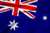 Waving Australia Flag — Stock Photo