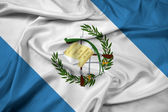 Waving Guatemala Flag — Stock Photo