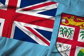 Waving Fiji Flag — Stock Photo