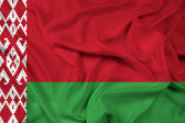 Waving Belarus Flag — Stock Photo
