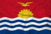 Waving Kiribati Flag — Stock Photo