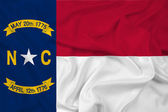 Waving North Carolina State Flag — Stock Photo