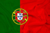 Waving Portugal Flag — Stock Photo