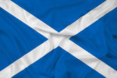 Waving Scotland Flag — Stock Photo