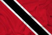 Mávání vlajkou trinidad a tobago — Stock fotografie