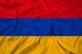 Waving Armenia Flag — Stock Photo