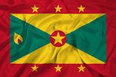 Waving Grenada Flag — Stock Photo