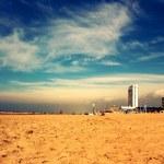 Beach in Zandvoort, The Netherlands — Stock Photo #46048629
