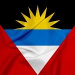 Waving Antigua and Barbuda Flag — Stock Photo #47112121