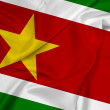 Waving Suriname Flag — Stock Photo #47605837