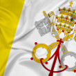 Waving Vatican City Flag — Stock Photo